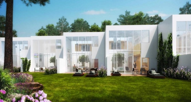 NEW REAL ESTATE DEVELOPMENT- NEW LUXURY MODERN VILLAS IN DOWNTOWN VILAMOURA, ALGARVE