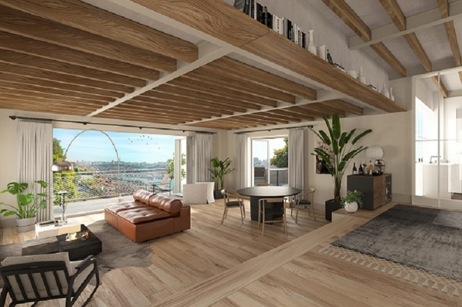 NEW AND LUXURY APARTMENTS WITH RIVER VIEWS, PORTO CITY CENTER