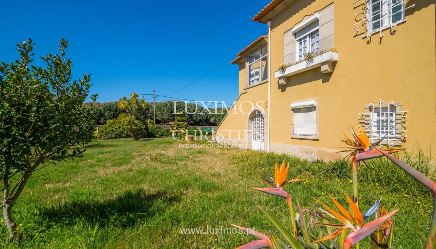 Venda de moradia para restauro, junto da praia, Vila Nova de Gaia_100125