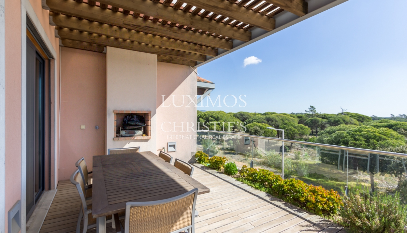 Sale of apartment with golf view in Vale do Lobo, Algarve, Portugal_100132