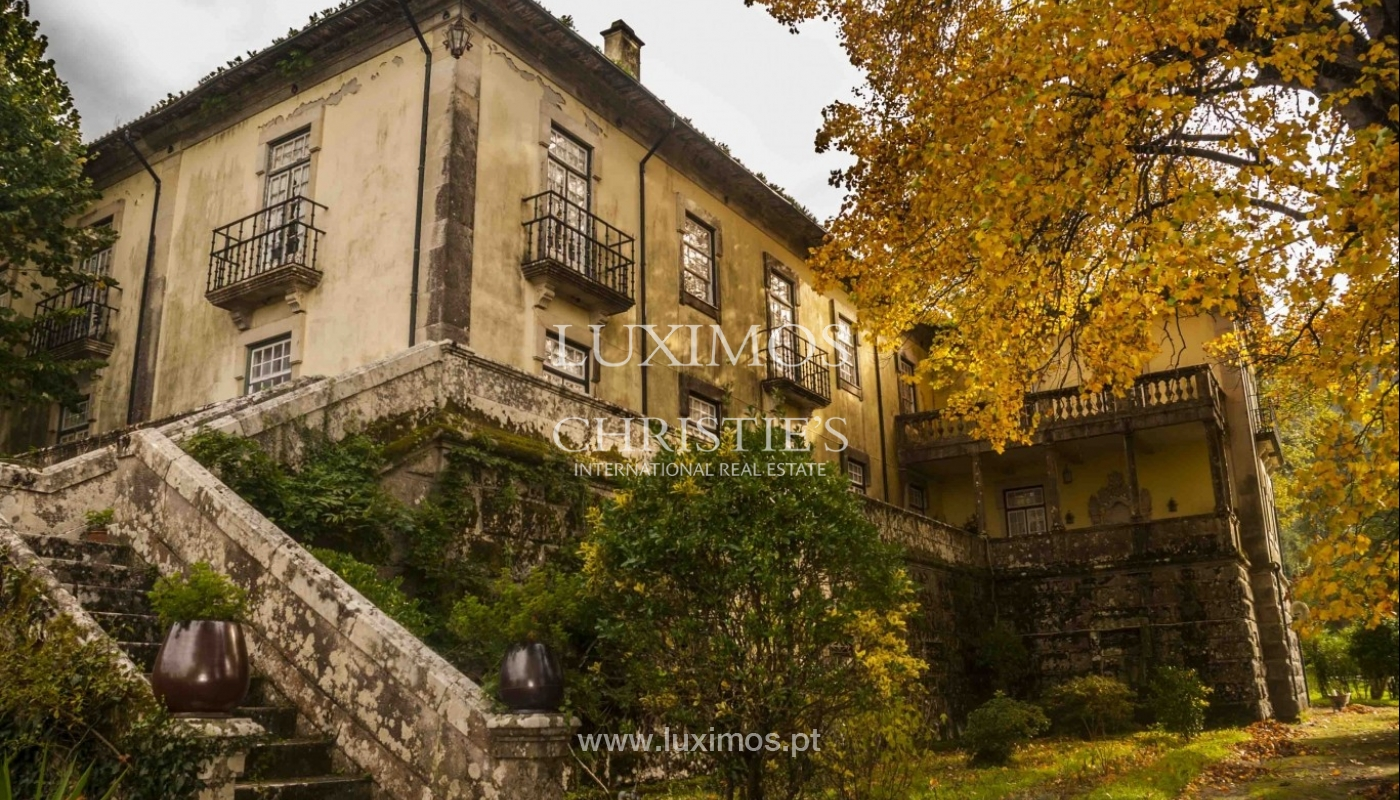 Quinta do Séc. XVIII com adega, piscina e árvores de fruto, em Caminha, Norte de Portugal_1003