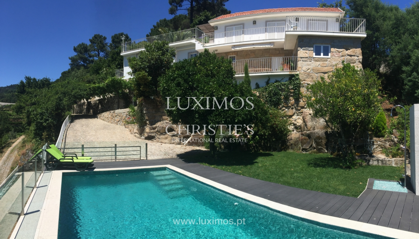 Sale of villa with pool and views to Douro, Marco Canaveses, Portugal_100632