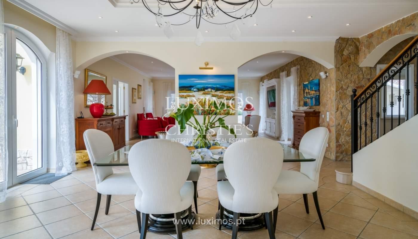 Sale of luxury villa with pool near Vilamoura, Algarve, Portugal_100645