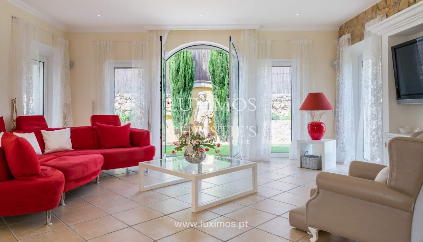 Sale of luxury villa with pool near Vilamoura, Algarve, Portugal_100647