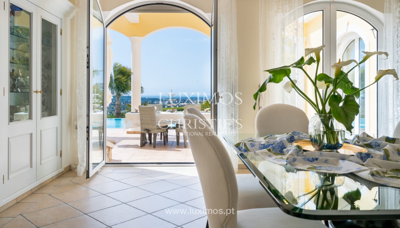 Sale of luxury villa with pool near Vilamoura, Algarve, Portugal_100648