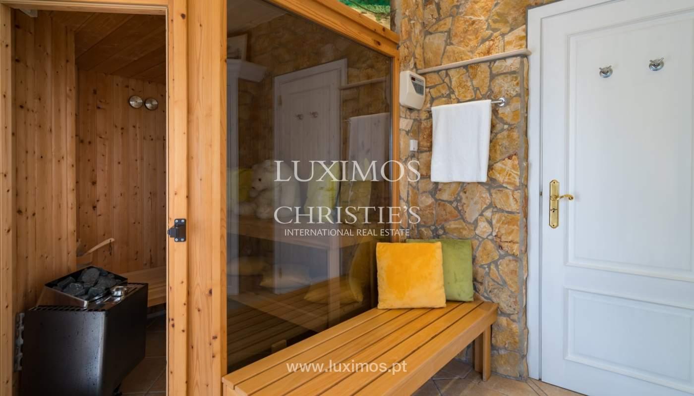 Sale of luxury villa with pool near Vilamoura, Algarve, Portugal_100651