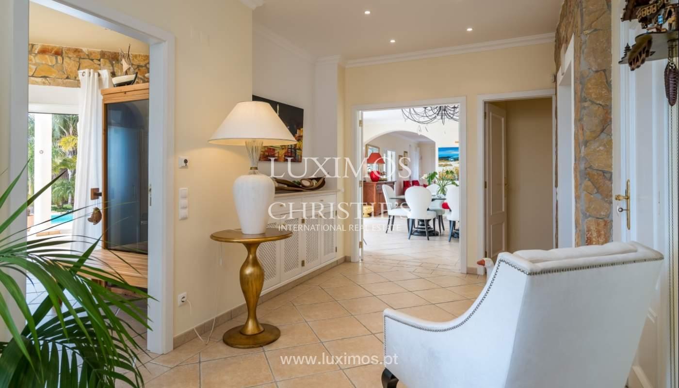 Sale of luxury villa with pool near Vilamoura, Algarve, Portugal_100652