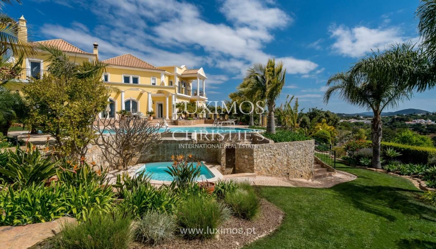Sale of luxury villa with pool near Vilamoura, Algarve, Portugal_100662