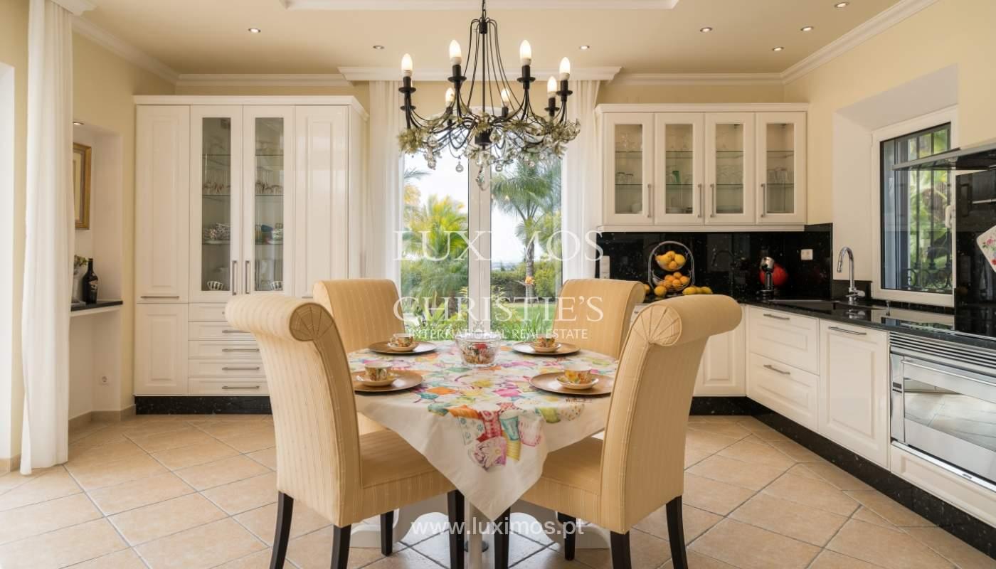 Sale of luxury villa with pool near Vilamoura, Algarve, Portugal_100670