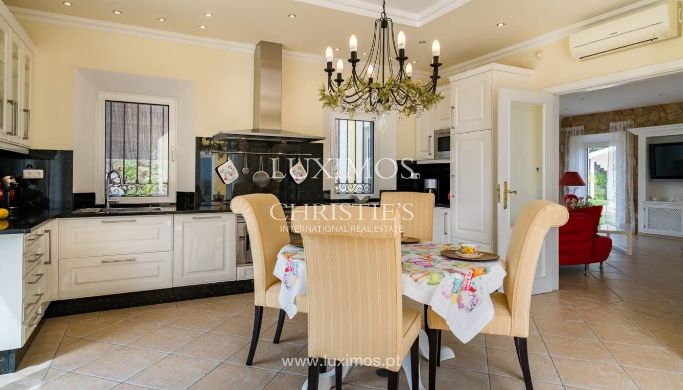 Sale of luxury villa with pool near Vilamoura, Algarve, Portugal_100673