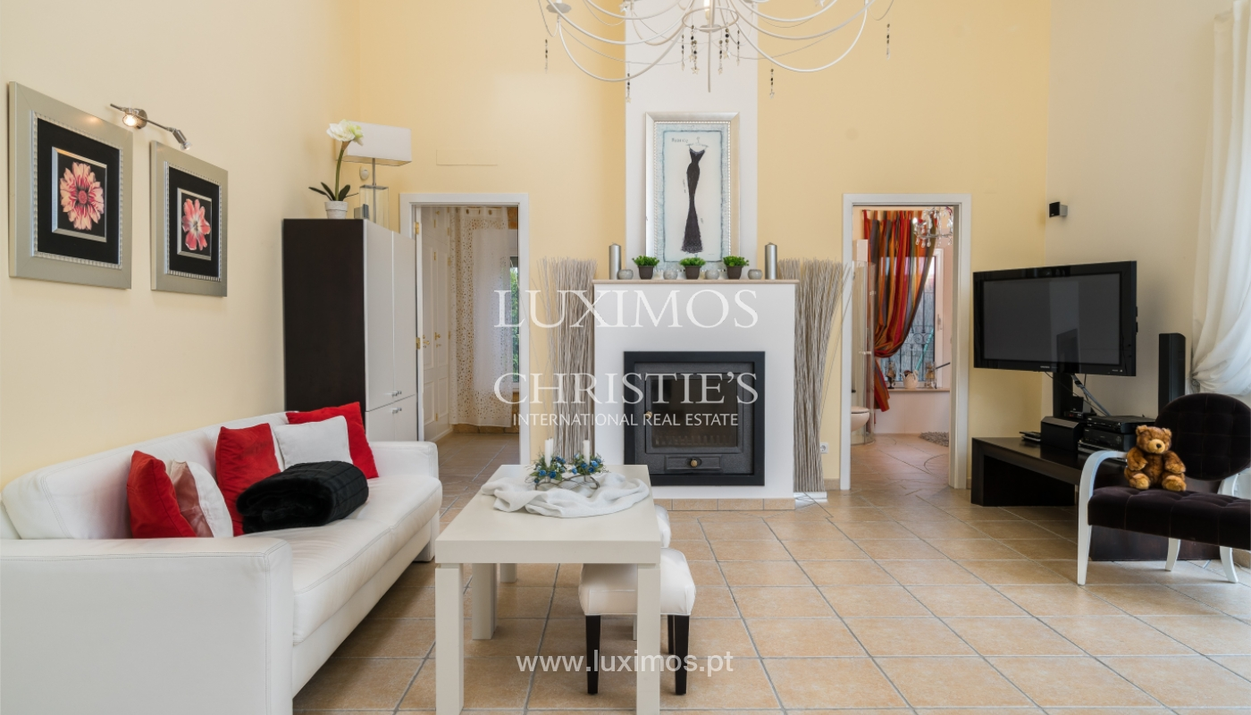 Sale of luxury villa with pool near Vilamoura, Algarve, Portugal_100677