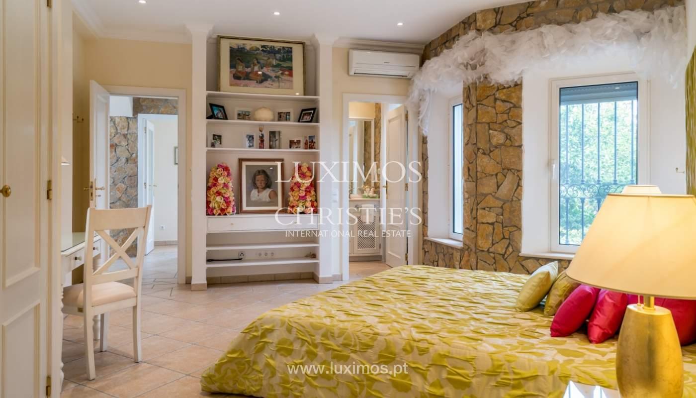 Sale of luxury villa with pool near Vilamoura, Algarve, Portugal_100679