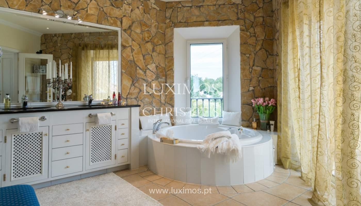 Sale of luxury villa with pool near Vilamoura, Algarve, Portugal_100688