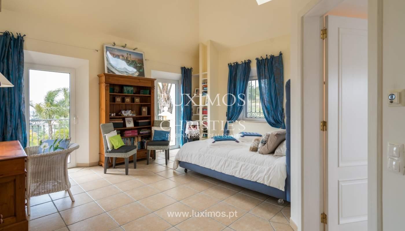 Sale of luxury villa with pool near Vilamoura, Algarve, Portugal_100691