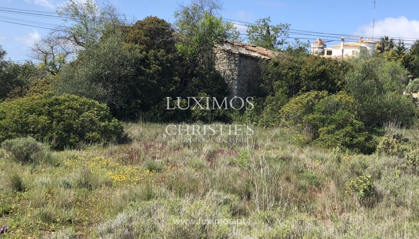 Sale of land with ruin, with sea view in Loule, Algarve, Portugal_100930