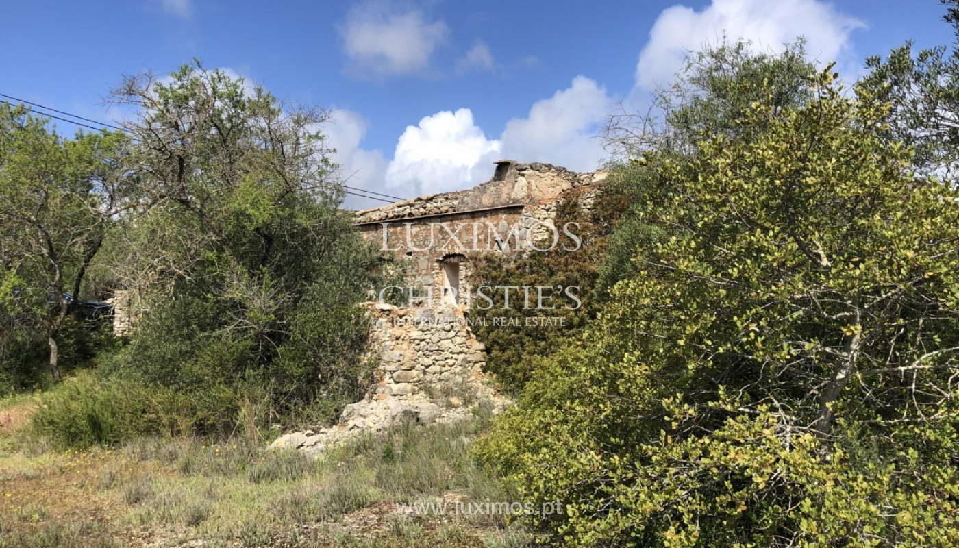 Sale of land with ruin, with sea view in Loule, Algarve, Portugal_100933