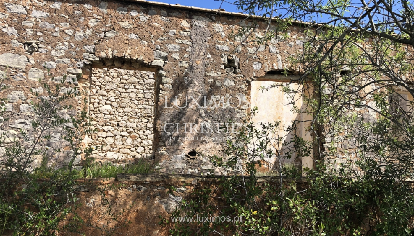 Sale of land with ruin, with sea view in Loule, Algarve, Portugal_100935