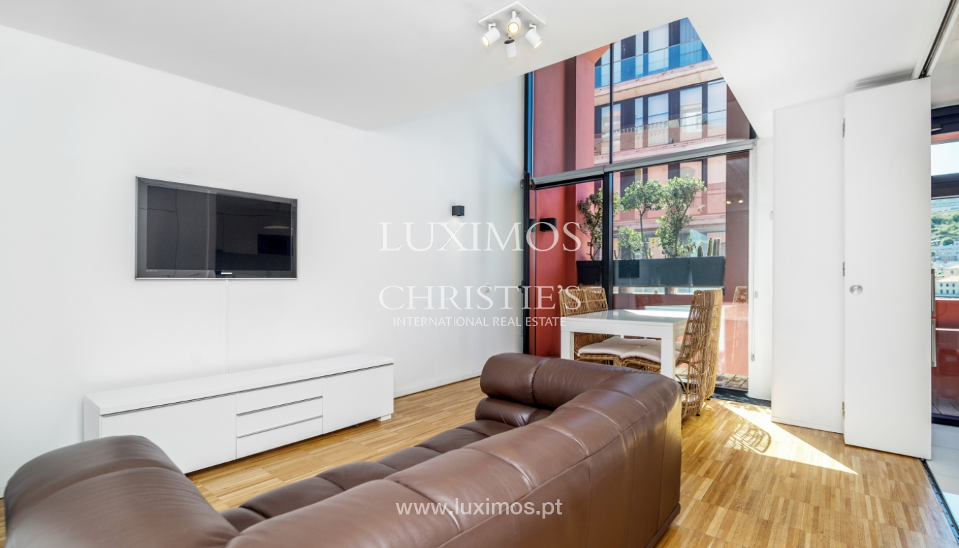 Venda de apartamento duplex de luxo, em condominio fechado, Porto_100950