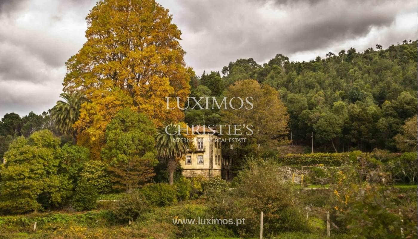 Quinta do Séc. XVIII com adega, piscina e árvores de fruto, em Caminha, Norte de Portugal_1009
