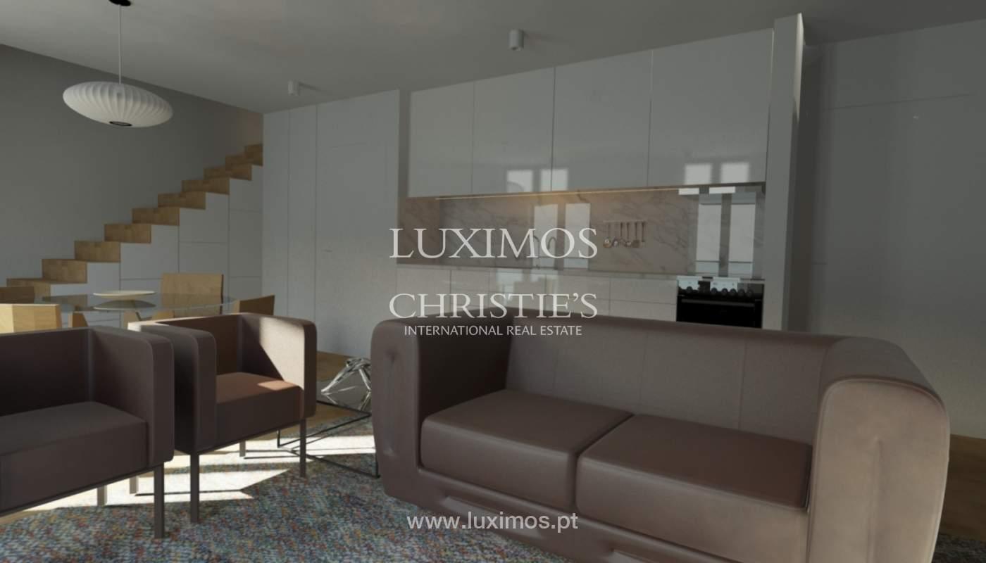 Bâtiment avec le projet approuvé à vendre dans le Porto, Portugal_101098