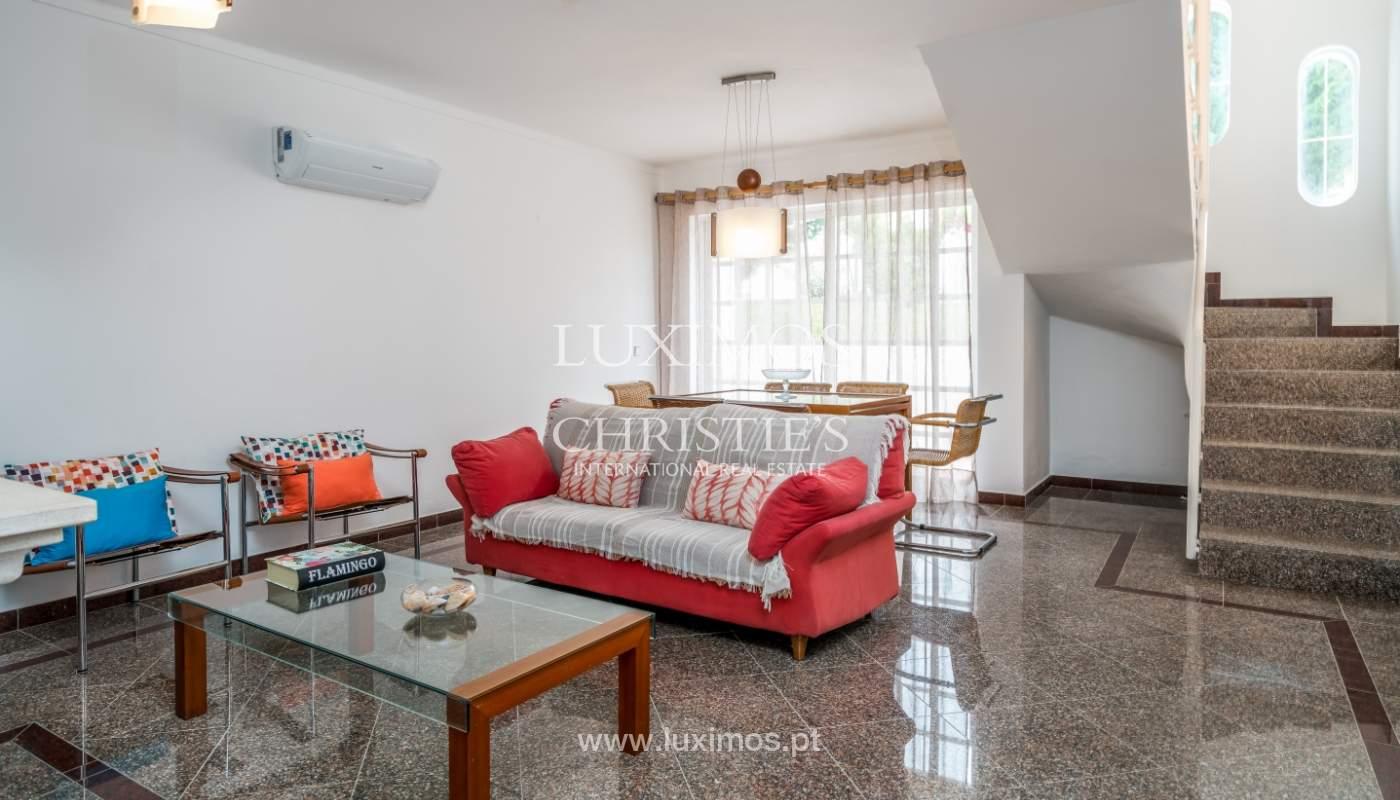 Villa à vendre près du golf à Vilamoura, Algarve, Portugal_101453