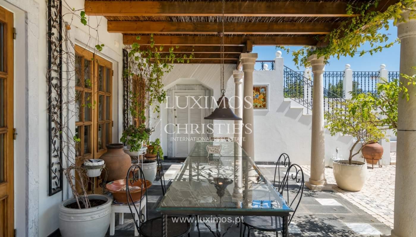 Venda de moradia com vista mar em Moncarapacho, Olhão, Algarve _101487
