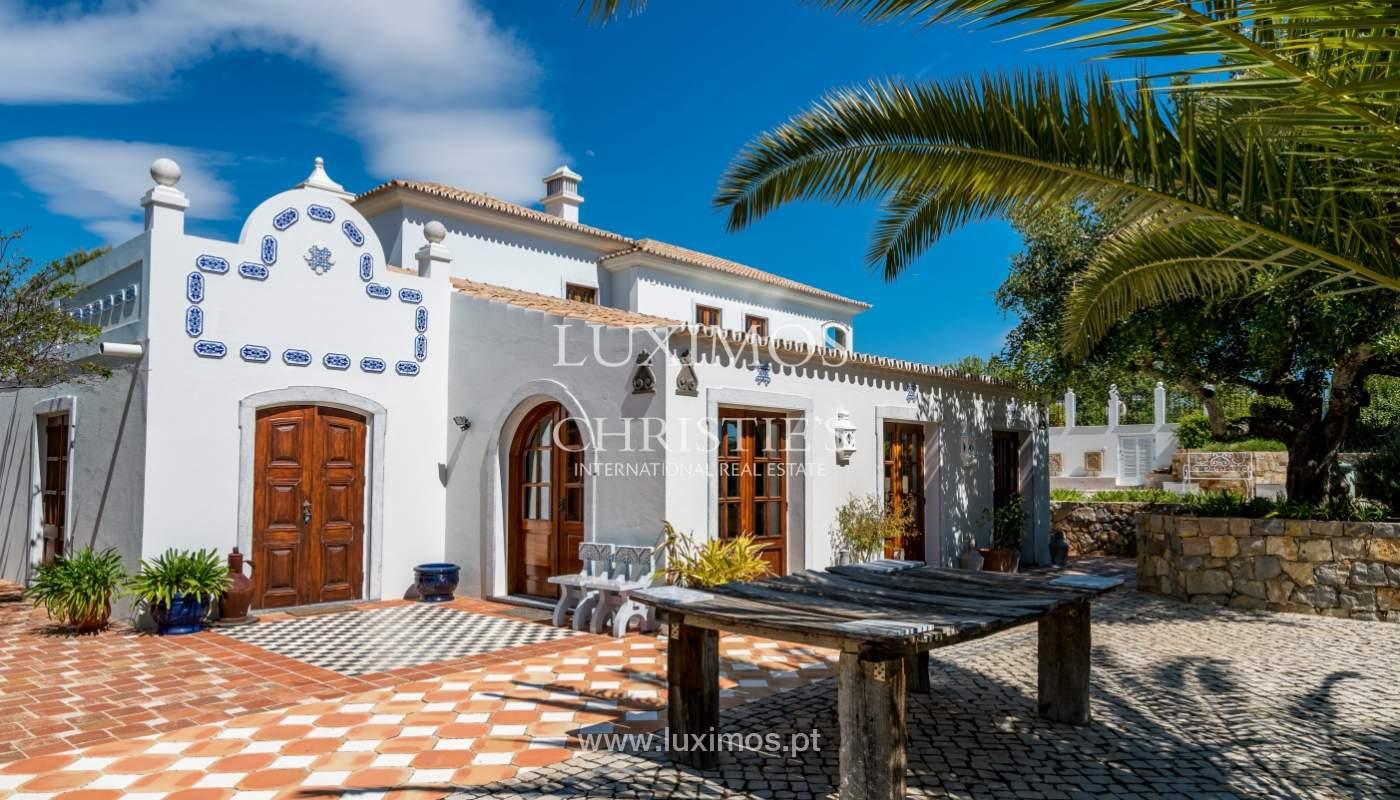 Venda de moradia com vista mar em Moncarapacho, Olhão, Algarve _101492