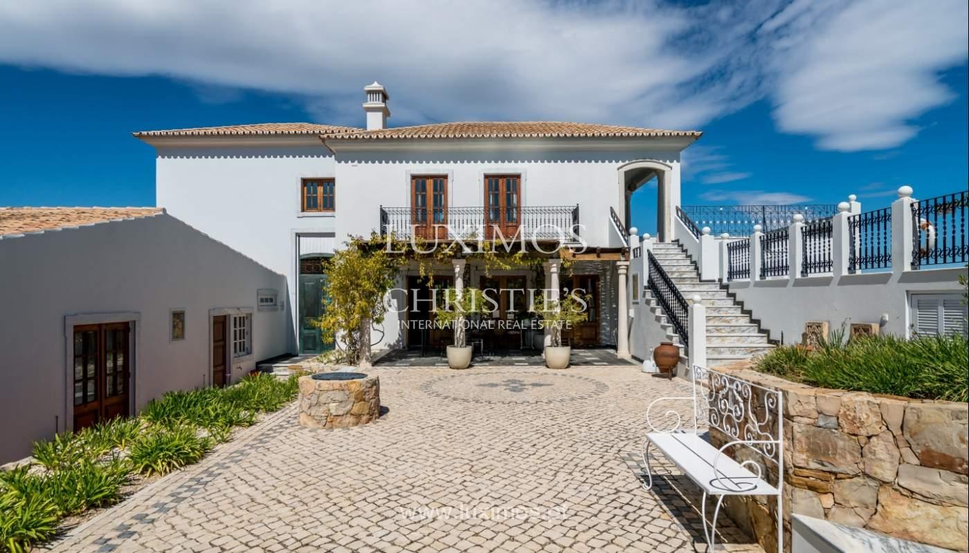 Venda de moradia com vista mar em Moncarapacho, Olhão, Algarve _101498