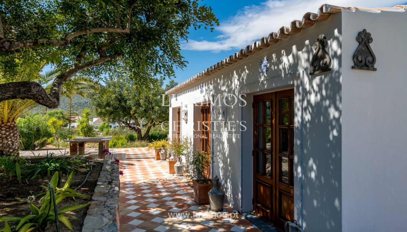 Venda de moradia com vista mar em Moncarapacho, Olhão, Algarve _101499