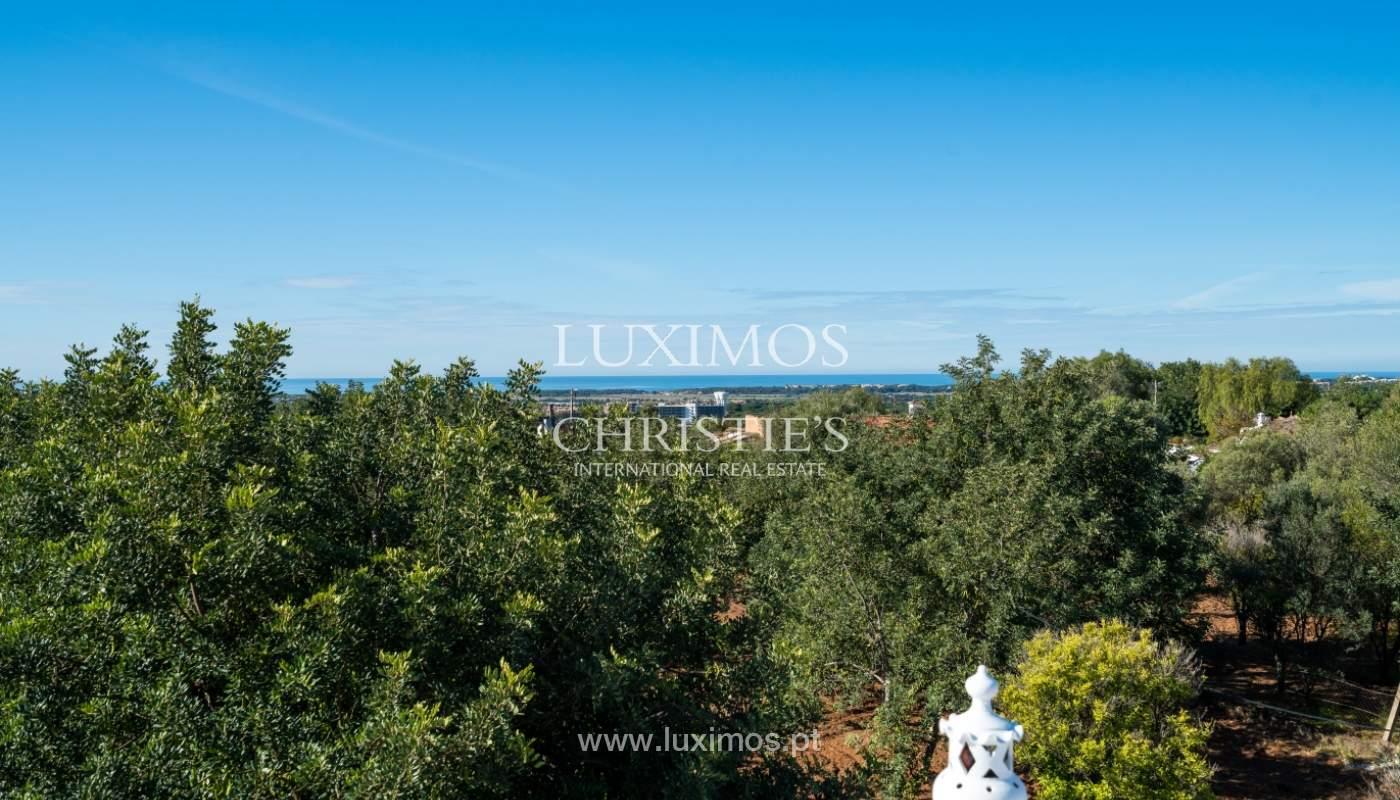 Venta de villa con vista mar en Boliqueime, Loule, Algarve, Portugal_101605