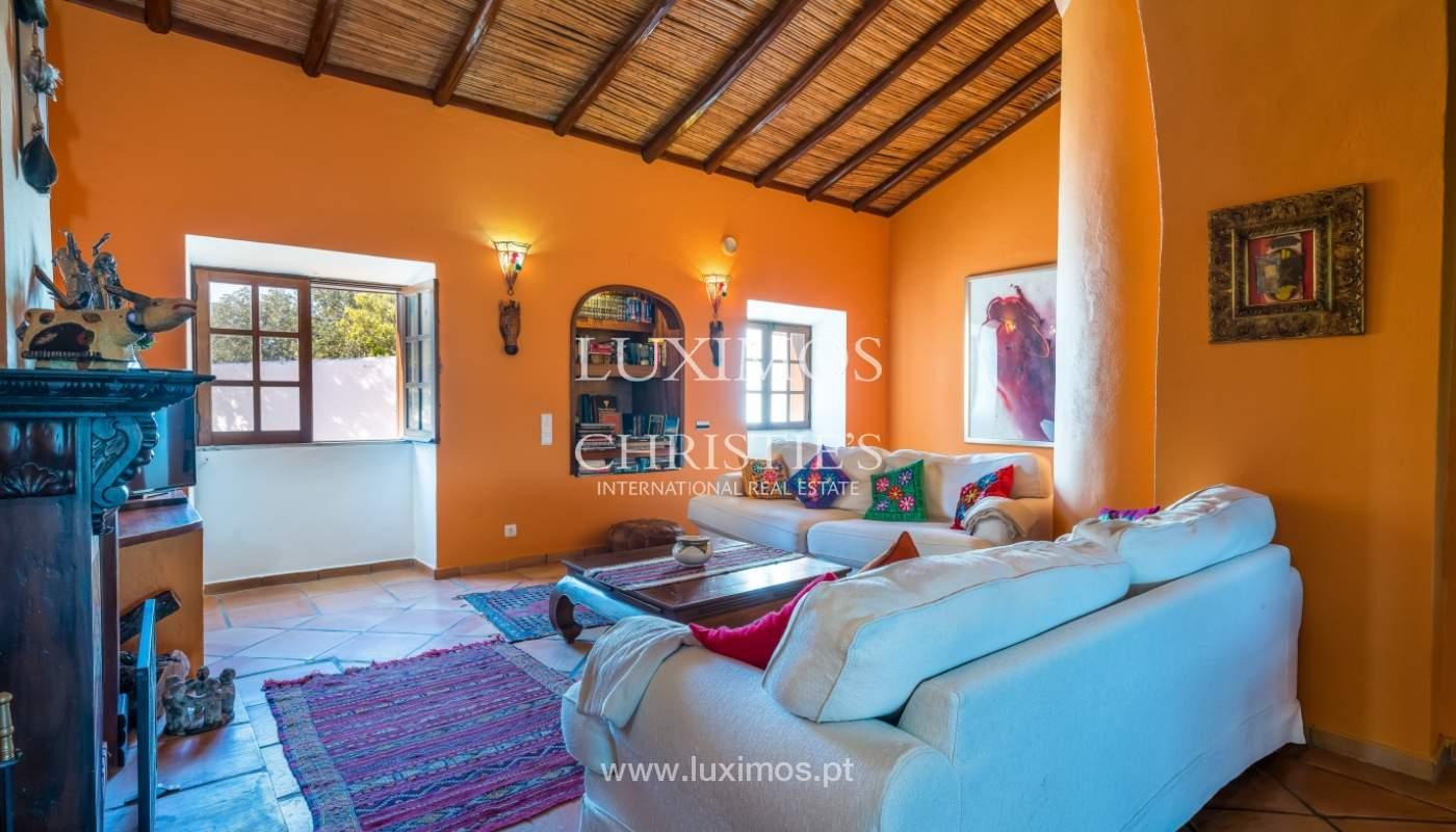 Venta de villa con vista mar en Boliqueime, Loule, Algarve, Portugal_101614