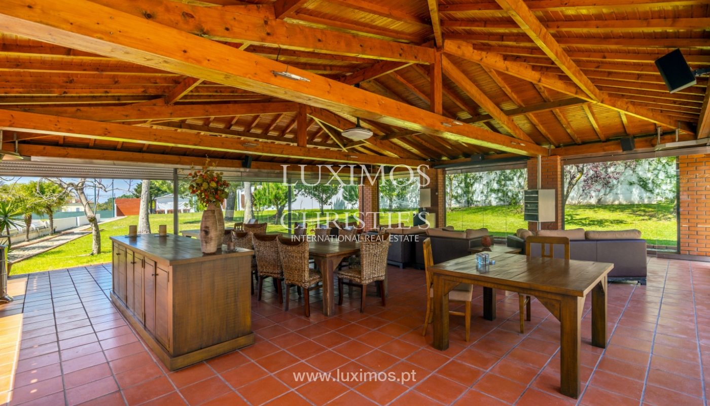Sale country house w/ gardens, tennis court and pool, Arrifana, Portugal_101740