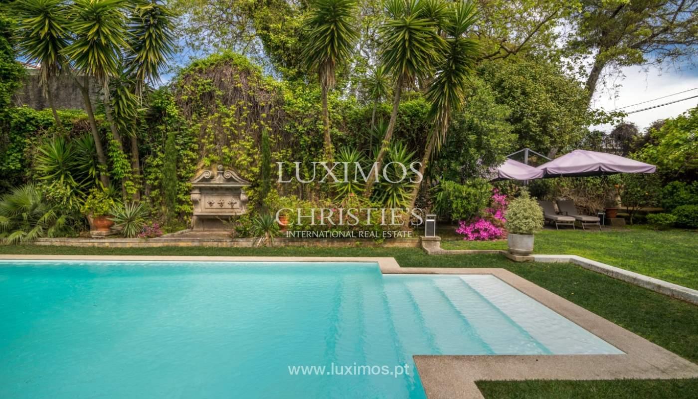 Sale mansion w/ garden and pool, near golf course, V.N. Gaia, Portugal_101775