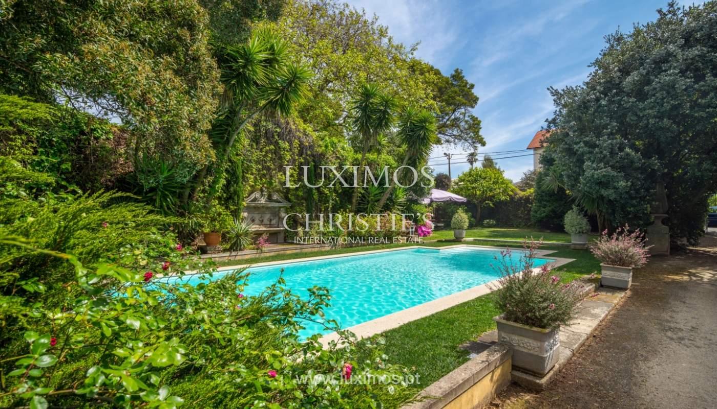 Sale mansion w/ garden and pool, near golf course, V.N. Gaia, Portugal_101776