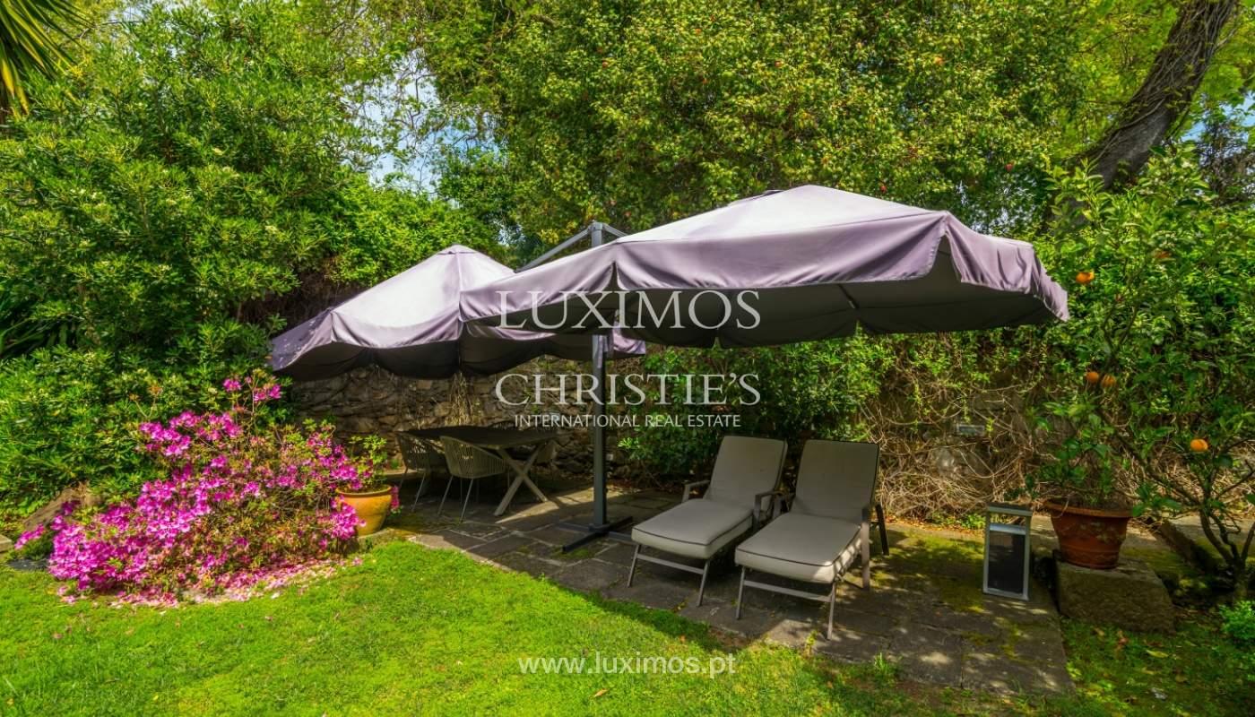 Sale mansion w/ garden and pool, near golf course, V.N. Gaia, Portugal_101778