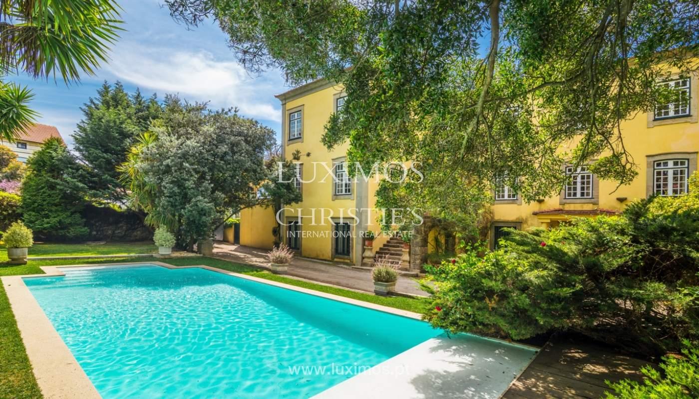 Sale mansion w/ garden and pool, near golf course, V.N. Gaia, Portugal_101779