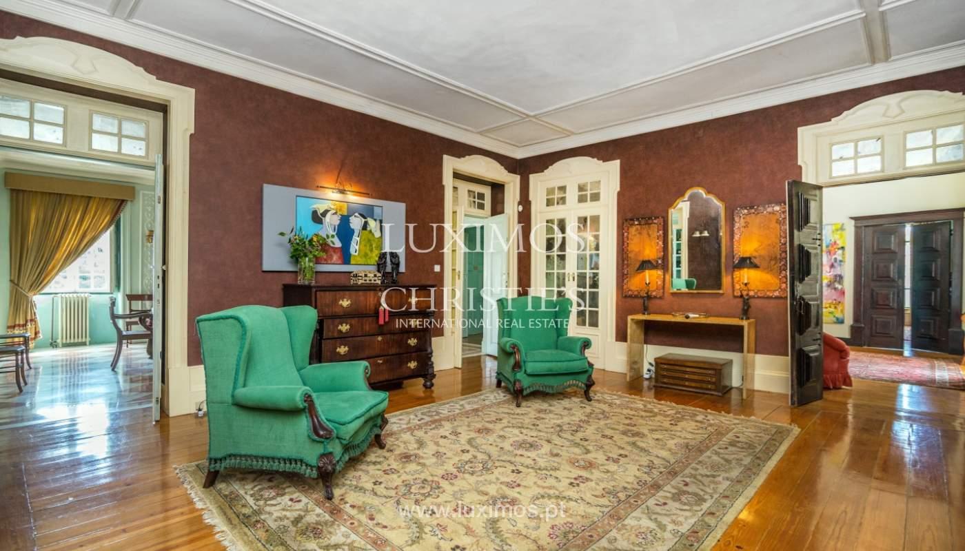Sale mansion w/ garden and pool, near golf course, V.N. Gaia, Portugal_101780