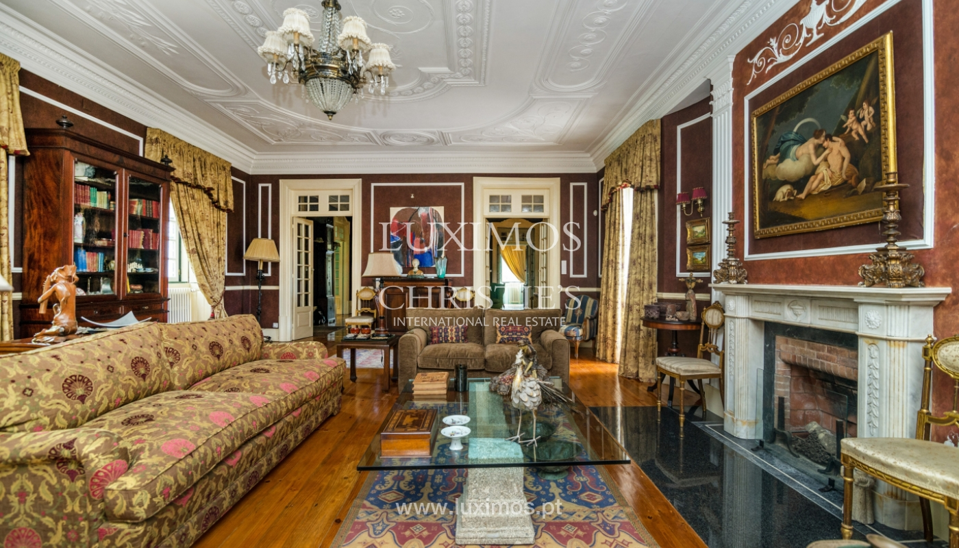 Sale mansion w/ garden and pool, near golf course, V.N. Gaia, Portugal_101782