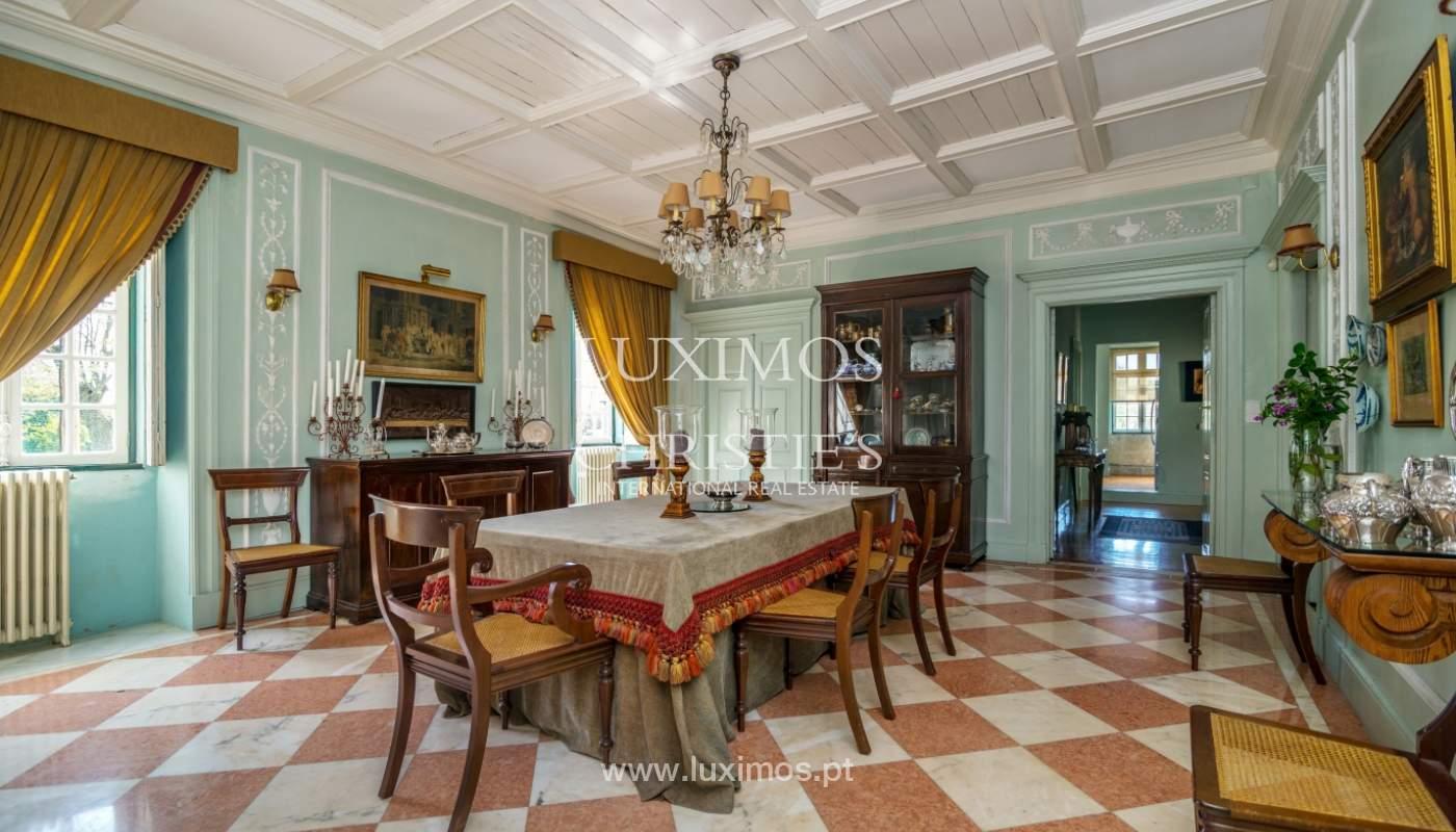 Sale mansion w/ garden and pool, near golf course, V.N. Gaia, Portugal_101784