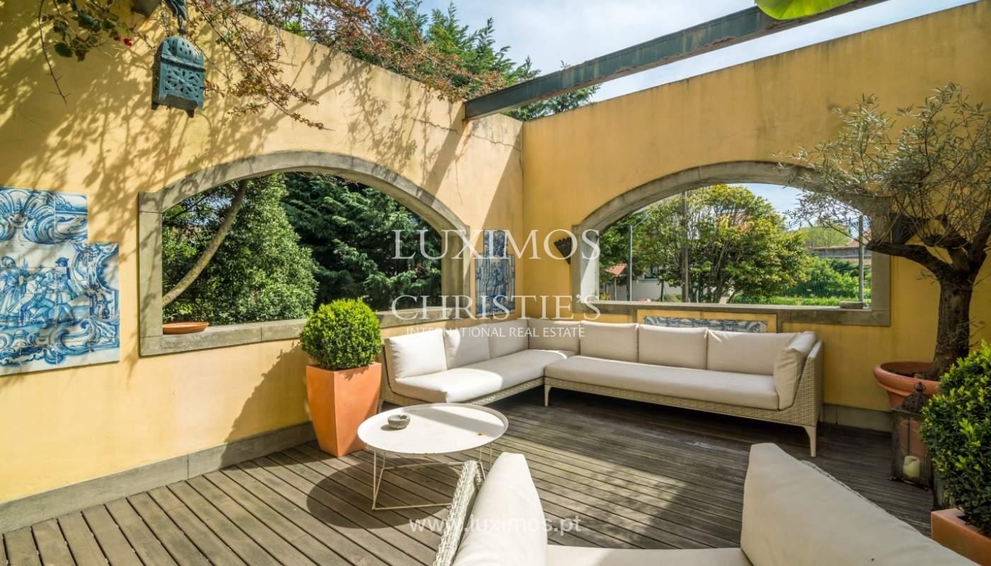 Sale mansion w/ garden and pool, near golf course, V.N. Gaia, Portugal_101786