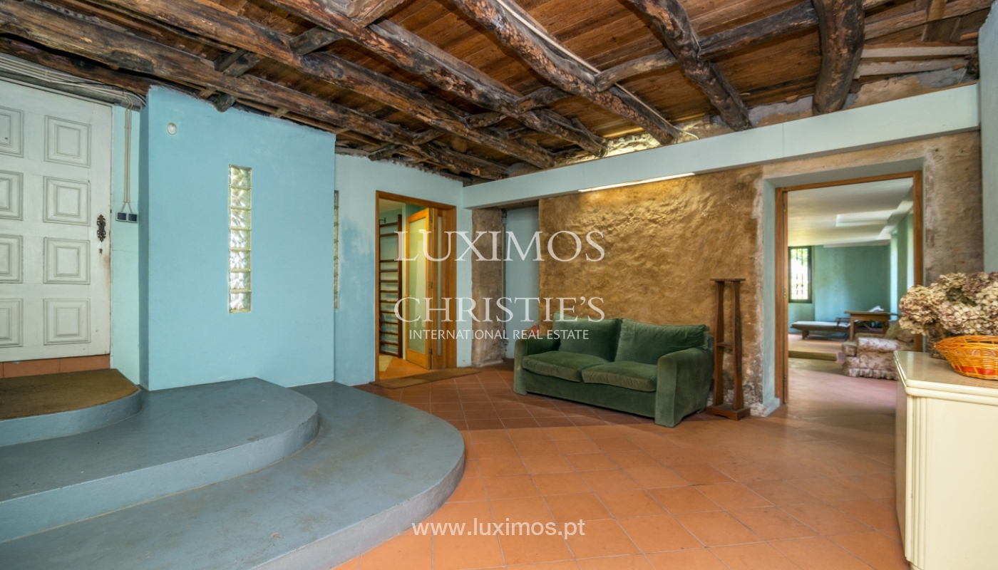 Sale mansion w/ garden and pool, near golf course, V.N. Gaia, Portugal_101811