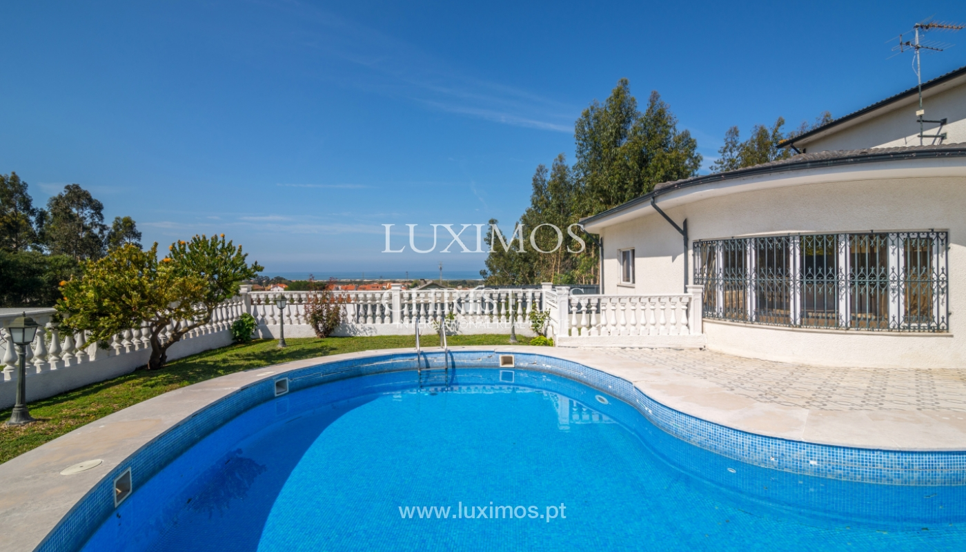 Sale of villa with ocean views, close to beach, Espinho, Portugal_101816
