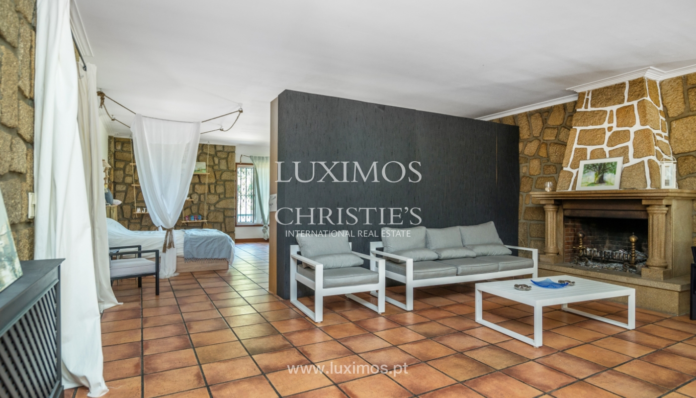 Sale of villa with ocean views, close to beach, Espinho, Portugal_101827