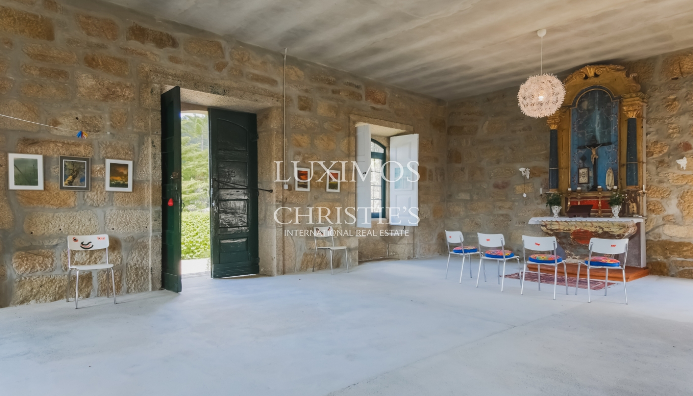 Sale country house with solar and pool, Cinfães do Douro, Portugal_102189