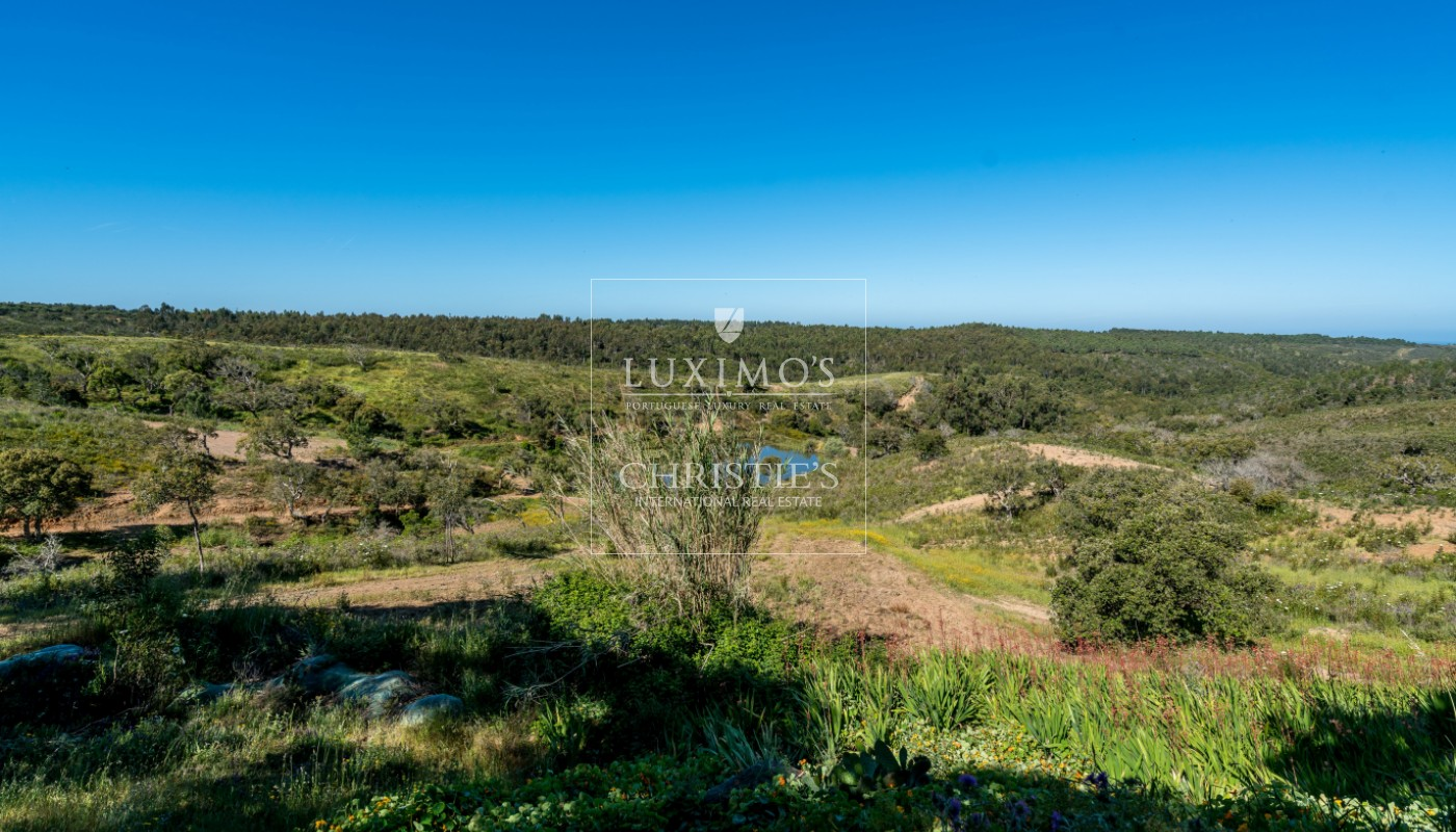 Sale of country house with sea view in Aljezur, Algarve, Portugal_102487
