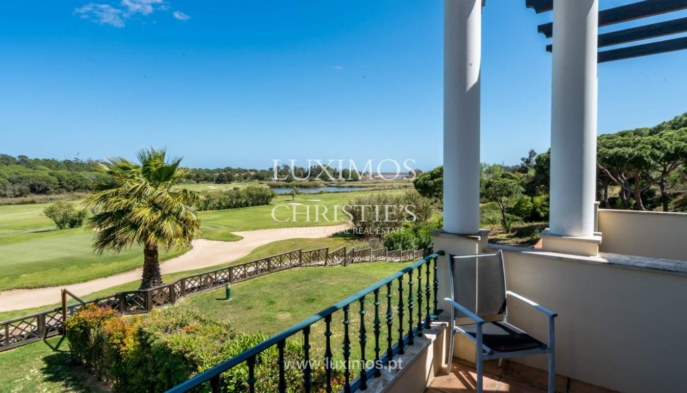 Verkauf von Wohnungen, front-Golfplatz im Almancil, Algarve, Portugal_102560