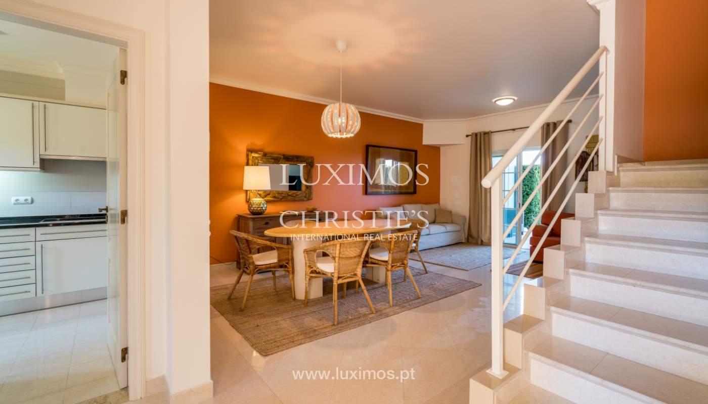 Verkauf von Wohnungen, front-Golfplatz im Almancil, Algarve, Portugal_102561