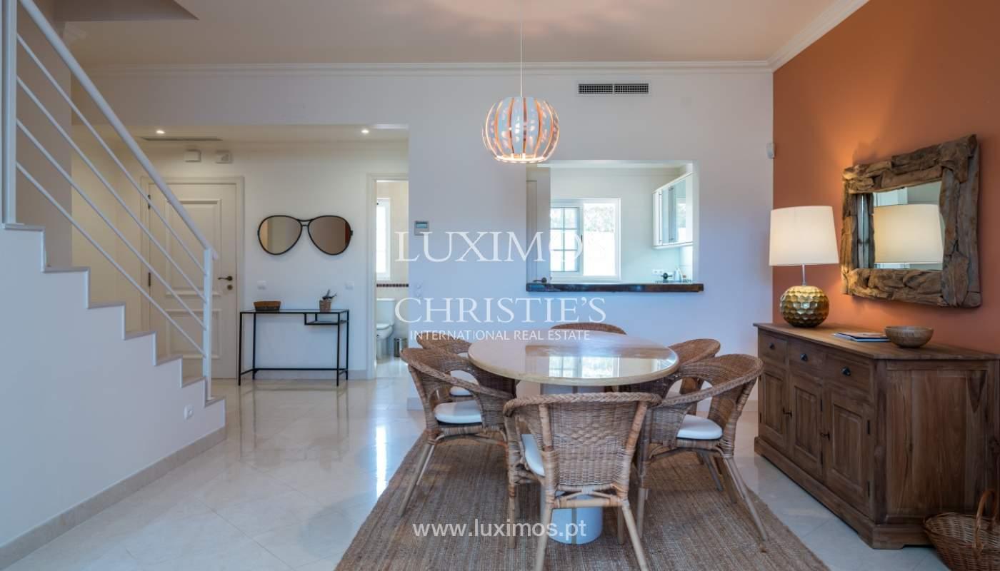 Verkauf von Wohnungen, front-Golfplatz im Almancil, Algarve, Portugal_102564
