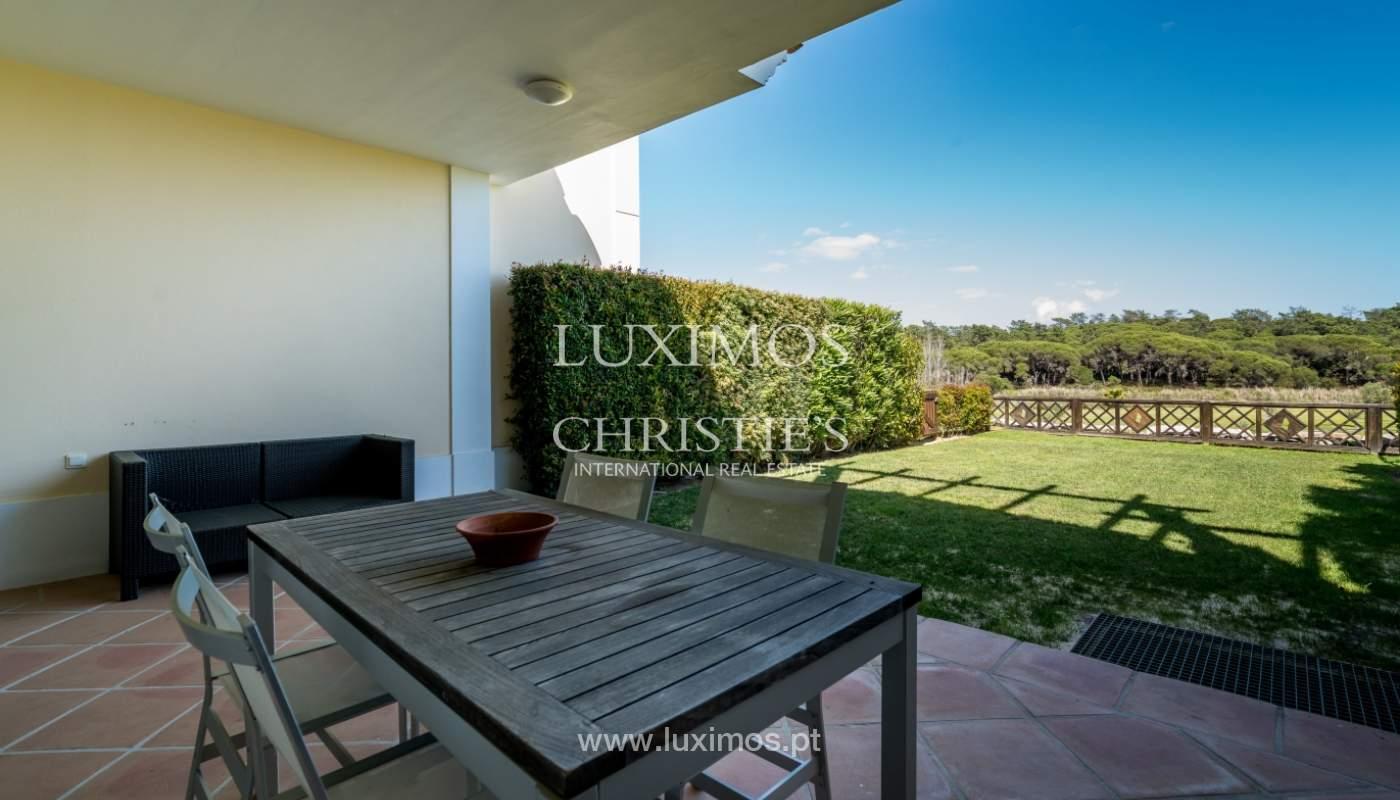 Verkauf von Wohnungen, front-Golfplatz im Almancil, Algarve, Portugal_102574