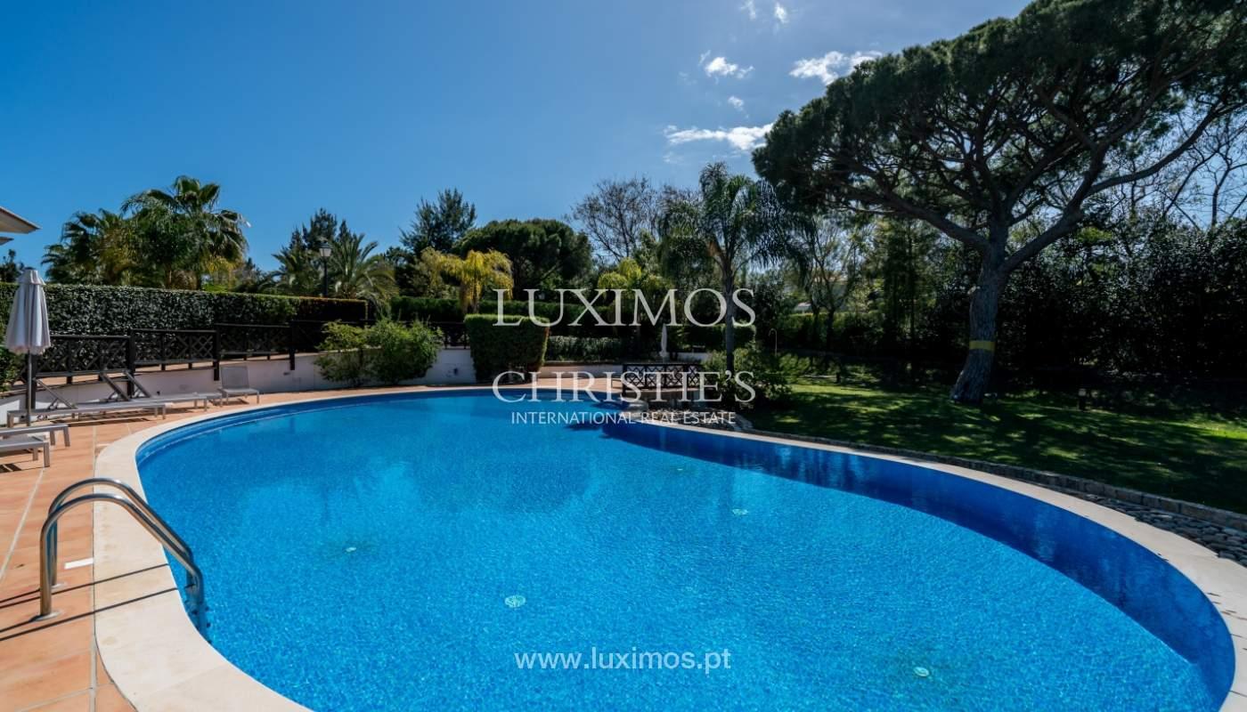 Verkauf von Wohnungen, front-Golfplatz im Almancil, Algarve, Portugal_102578